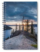 Spring Morning At Discovery Point Spiral Notebook