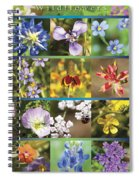 Spring Wildflowers II Spiral Notebook