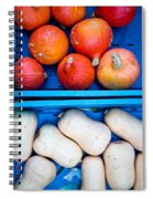Squashes Spiral Notebook