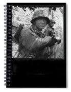 Ss Waffen Corporal Otto Funk Circa 1943 Spiral Notebook