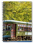 St. Charles Ave. Streetcar 2 Spiral Notebook