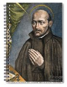 St. Ignatius Of Loyola Spiral Notebook
