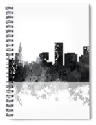 St Paul Minnesota Skyline Spiral Notebook
