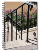 Stairs And Rails Spiral Notebook