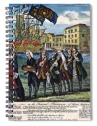 Stamp Act: Repeal, 1766 Spiral Notebook