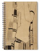 Standing Girl Spiral Notebook