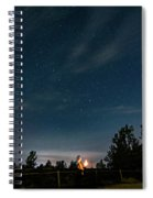 Star Gazer Spiral Notebook