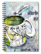 Starbucks Mug New York Spiral Notebook