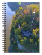Starved Rock Ill, Spiral Notebook