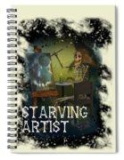 Starving Artist Spiral Notebook