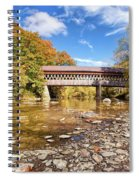 State Road Covered Bridge Spiral Notebook