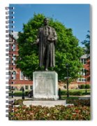 Statue Of Chief Justice John Marshall Spiral Notebook