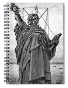 Statue Of Liberty, 1886 Spiral Notebook