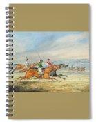 Steeplechasing Henry Thomas Alken Spiral Notebook