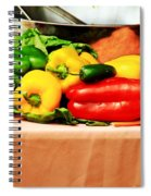 Still Life - Vegetables Spiral Notebook