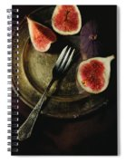 Still Life With Fresh Figs Spiral Notebook