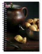 Still Life With Potatoes Spiral Notebook