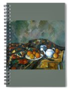 Still Life With Teapot Spiral Notebook