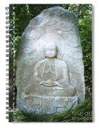 Stone Buddha  Spiral Notebook