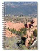 Stone Quarry At Red Rock Canyon Open Space Park Spiral Notebook