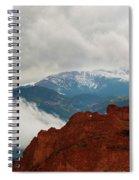 Storm Brewing At Garden Of The Gods Spiral Notebook