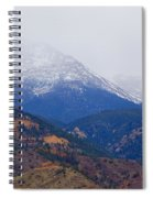 Storm Clouds On Pikes Peak Spiral Notebook