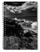 Storms Coming Spiral Notebook