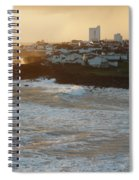 Stormy Weather In Azores Spiral Notebook