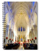 St.patricks Cathedral Restored Spiral Notebook