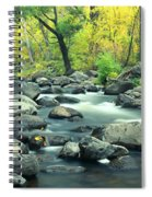 Stream In Cottonwood Canyon, Sedona Spiral Notebook