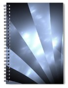 Stripes And Sky Spiral Notebook