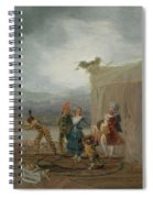 Strolling Players Spiral Notebook
