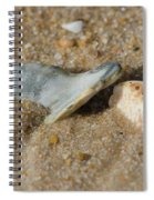 Stuck In The Sand Spiral Notebook