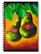 Study Of Two Pears Spiral Notebook