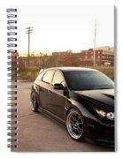 Subaru Spiral Notebook