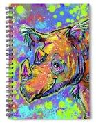 Sumatran Rhino Spiral Notebook
