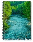 Summer Stream Spiral Notebook