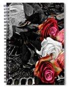 Sundial Bouquet Spiral Notebook