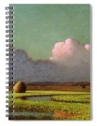 Sunlight And Shadow Spiral Notebook