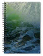 Sunlight And Surf Spiral Notebook