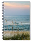 Sunrise And Sand Spiral Notebook