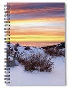 Sunrise At Marginal Way Spiral Notebook