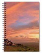 Sunrise At Tagaytay Highland Spiral Notebook
