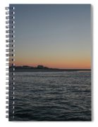 Sunrise At Townsends Inlet Spiral Notebook