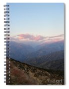 Sunrise Over Kings Canyon Spiral Notebook