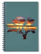 Sunrise Tree Spiral Notebook