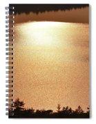 Sun's Reflection Spiral Notebook