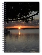 Sunset At Islamorada Spiral Notebook