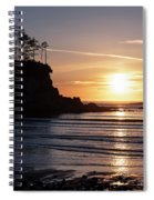 Sunset Bay Moments Spiral Notebook
