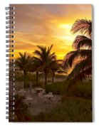 Sunset On Grace Bay Spiral Notebook